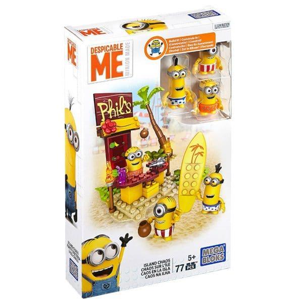 Mega Bloks Despicable Me Island Chaos Figure Pack