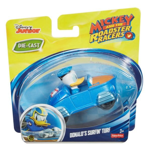 Fisher Price Mickey and the Roadster Racers Donald's Surfin' Turf