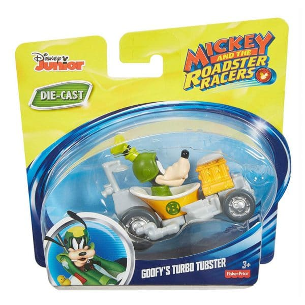 Fisher Price Mickey and the Roadster Racers Goofy's Turbo Turbster