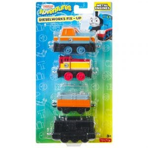 Thomas & Friends Adventures Dieselworks Fix-Up Engine Multi-Pack