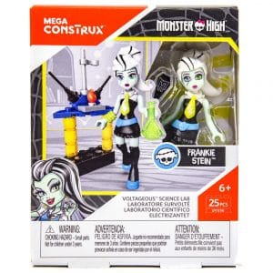 Monster High Mega Construx Miniature Doll Frankie Stein Toy Figure