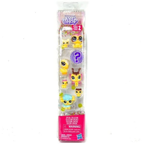 Littlest Pet Shop Series 2 Special Collection Gorillabee Pufferly Colley