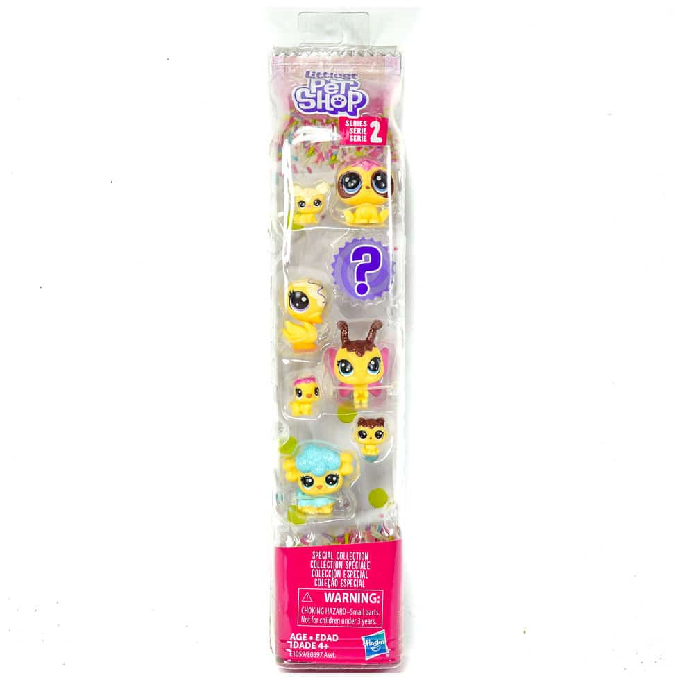 Littlest Pet Shop Series 2 Special Collection Gorillabee Pufferly Colley |  Samko & Miko Toy Warehouse
