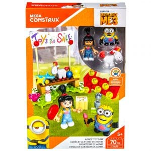 Mega Construx Despicable Me 3 Agnes' Toy Sale Building Set