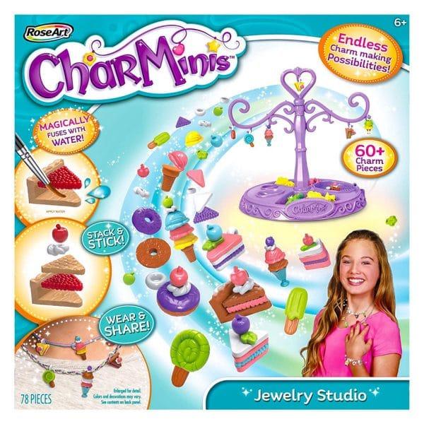 Rose Art CharMinis Charm Maker Jewelry Studio 78 Pcs