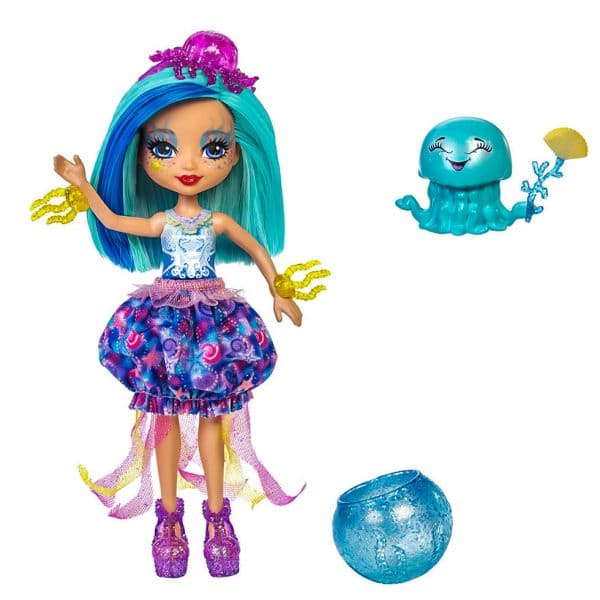 Enchantimals Jessa Jellyfish Doll & Marisa Figure