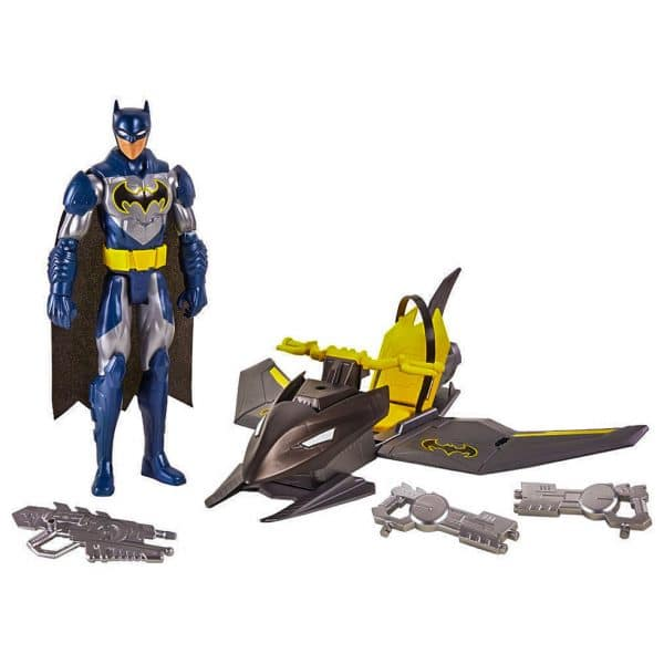 Justice League Action Batman and Bat Jet