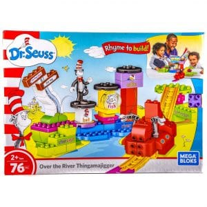 Mega Bloks Dr. Seuss Over The River Thingamajigger 76 Pcs Building Set