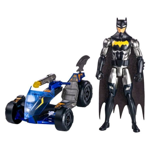 Justice League Action Pursuit Batman and Knight Runner
