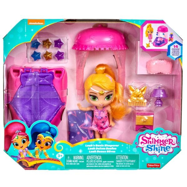 Fisher-Price Nickelodeon Shimmer and Shine Leah's Genie Sleepover