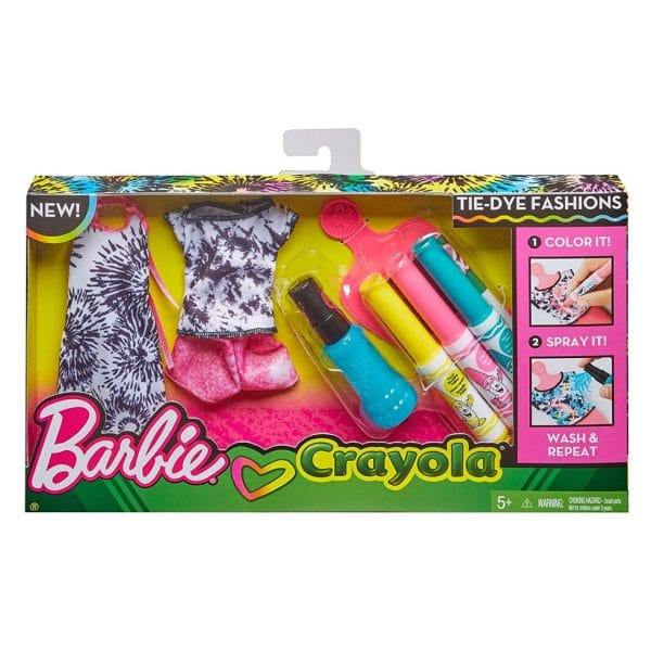 Barbie Crayola Tie-Dye Fashions