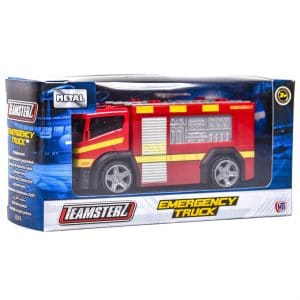 "Teamsterz 4"" Emergency Fire Engine Truck"