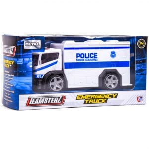 "Teamsterz 4"" Emergency Police Mobile Command"