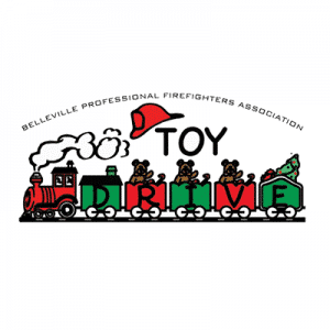 belleville professional firefighters association toy drive