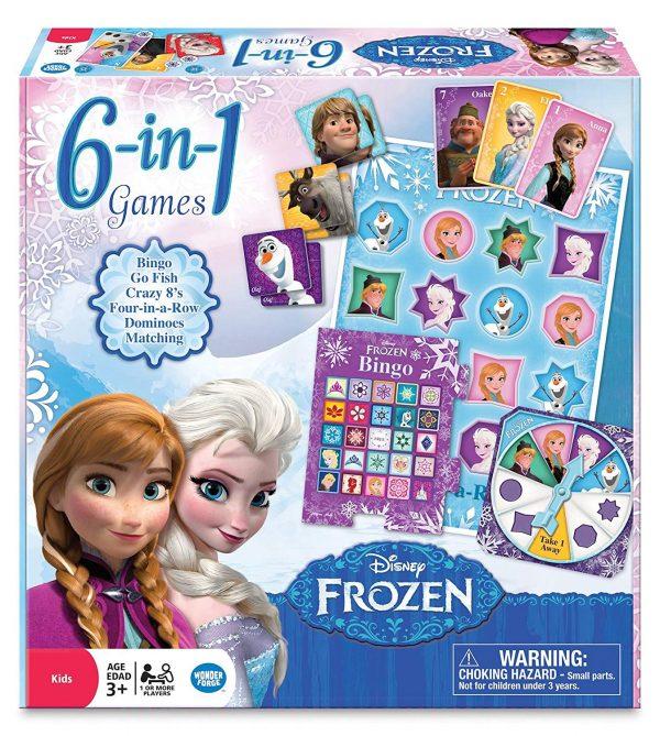 Disney Frozen 6in1 Games