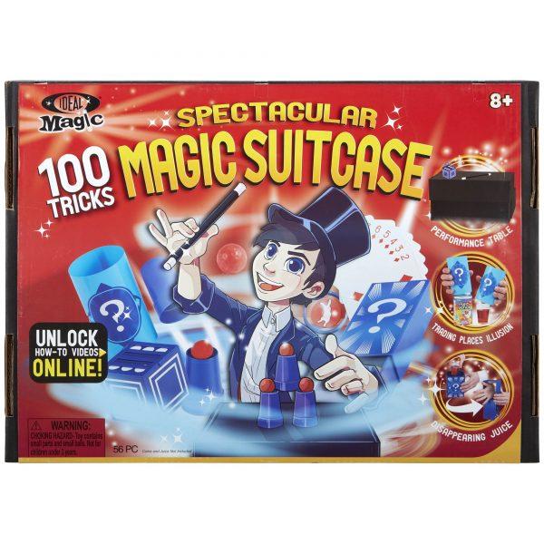 Spectacular Magic Suitcase - 100 Tricks