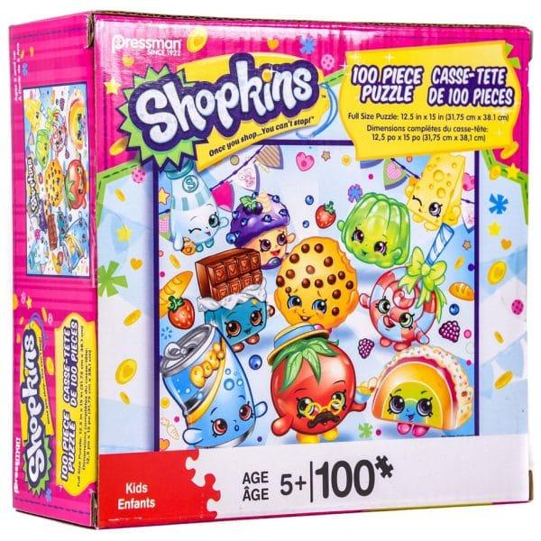Pressman Shopkins 100-Piece Puzzle