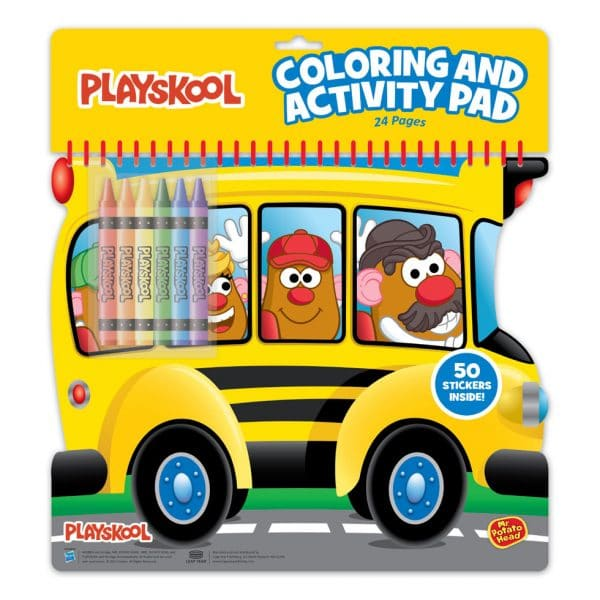 Playskool Colouring n Activity Pad Ride - Mr. Potato Head