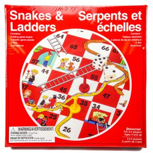 Pressman Snakes & Ladders Game 6 Players