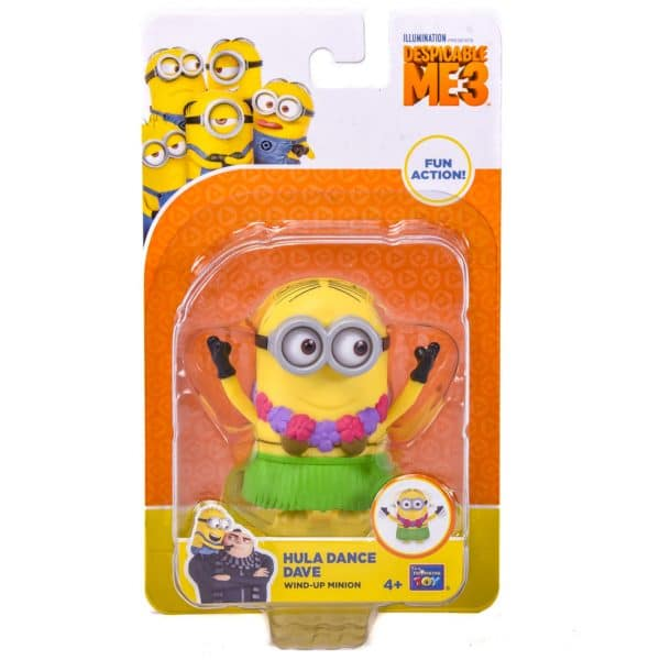 Despicable Me 3 Wind-Up Action Hula Dance Dave