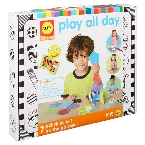 Alex Discover Play All Day Learning Kit - 147 Pcs