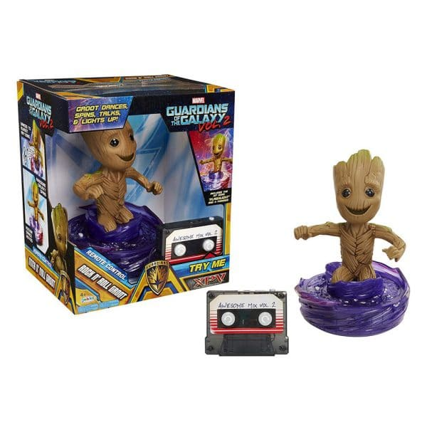 Xpv Marvel Guardians Of The Galaxy 2 R/C Rock N Roll Groot Figure