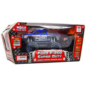 World Tech Ford F-250 Super Duty RC Truck Vehicle 1:24 Scale BLUE