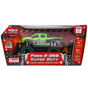 World Tech Ford F-250 Super Duty RC Truck Vehicle 1:24 Scale GREEN