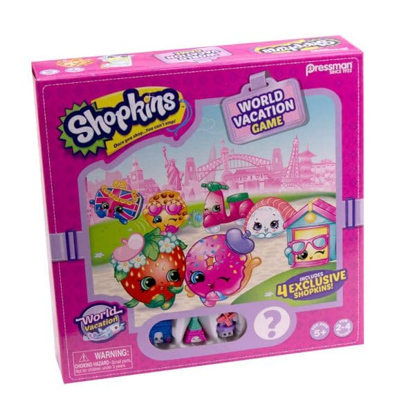 Shopkins World Vacation Board Game