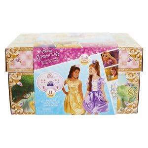 Disney Princess Belle and Rapunzel Dress Up Trunk