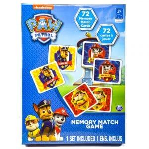 Nickelodeon Paw Patrol 72-pc Memory Match Game