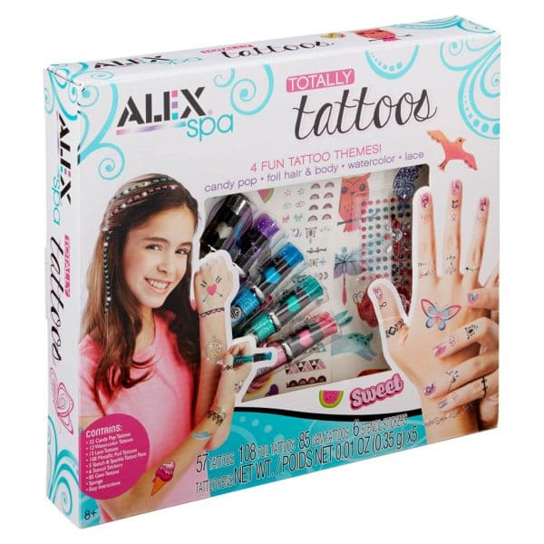 Alex Spa Hand And Nail Totally Tattoos Set