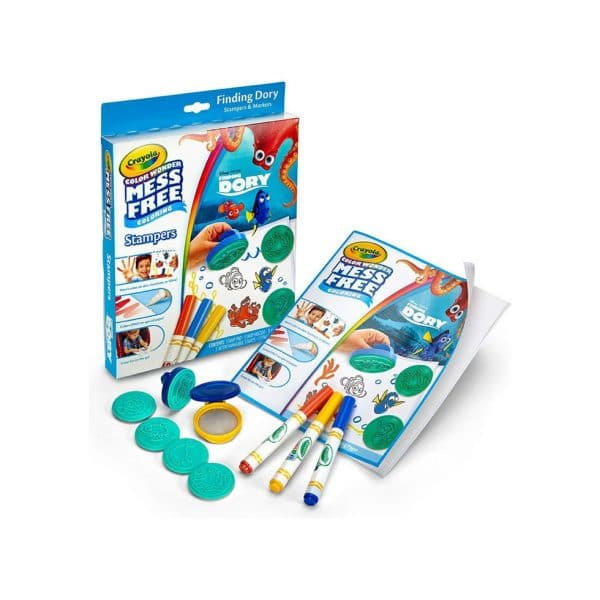 Crayola Color Wonder Mess Free Coloring Finding Dory Stampers N Markers