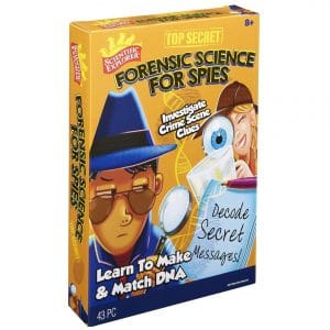 Scientific Explorer Top Secret Forensic Science For Spies