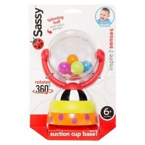 Sassy Spinning Ball Baby Toy