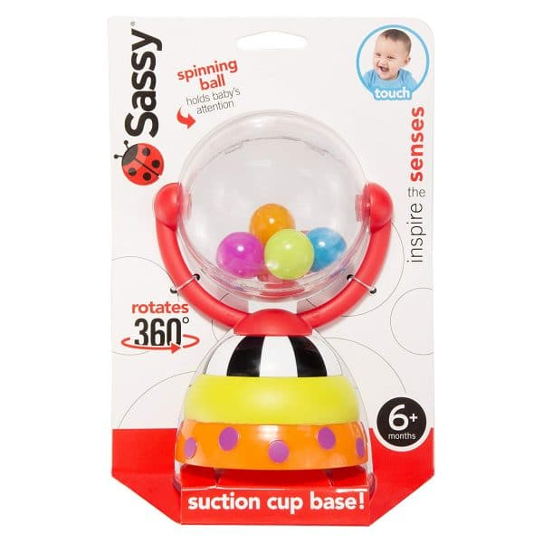 Sassy Spinning Ball Baby Toy