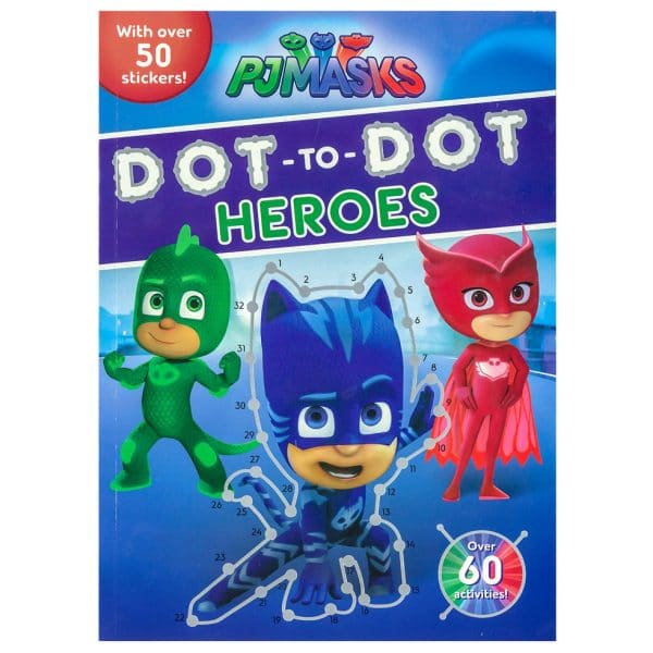 PJ Masks Dot-to-Dot Heroes