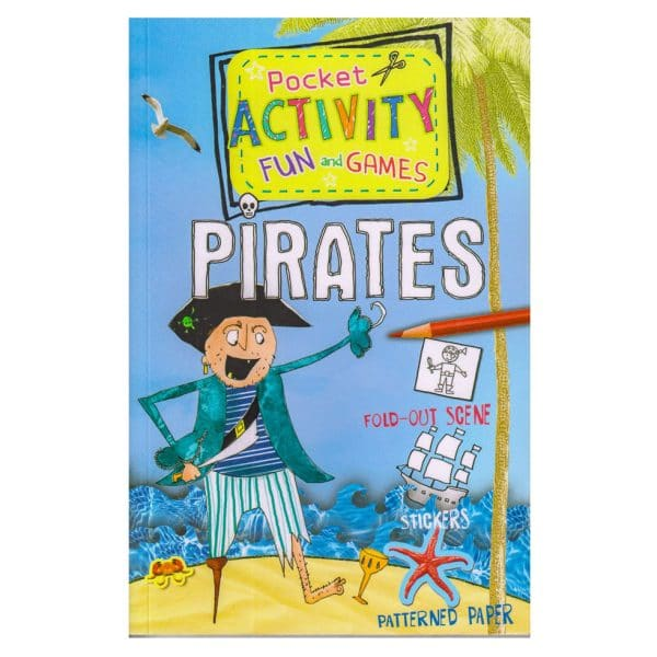 Pirates Pocket Activity Fun and Games