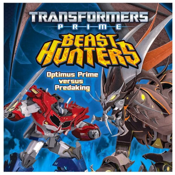 Transformers Prime Beast Hunters Optimus Prime versus Predaking