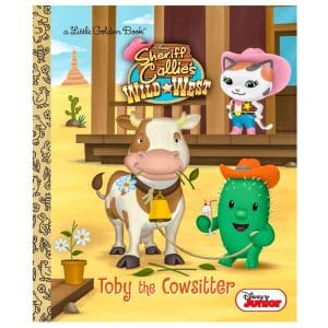Little Golden Book Toby The Cowsitter