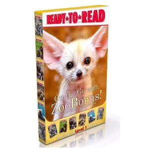 On the Go with ZooBorns! Ready-to-Read 6 Book Set (Level 1)