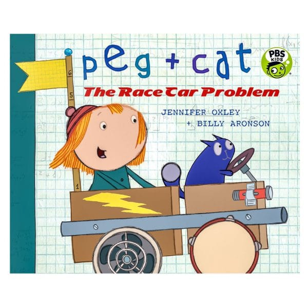 Peg and Cat The Race Car Problem