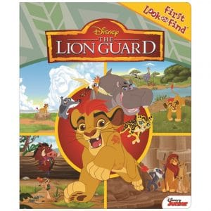 Disney The Lion Guard Look and Find Book