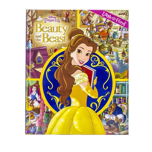 Disney Princess Beauty and the Beast Look and Find Book