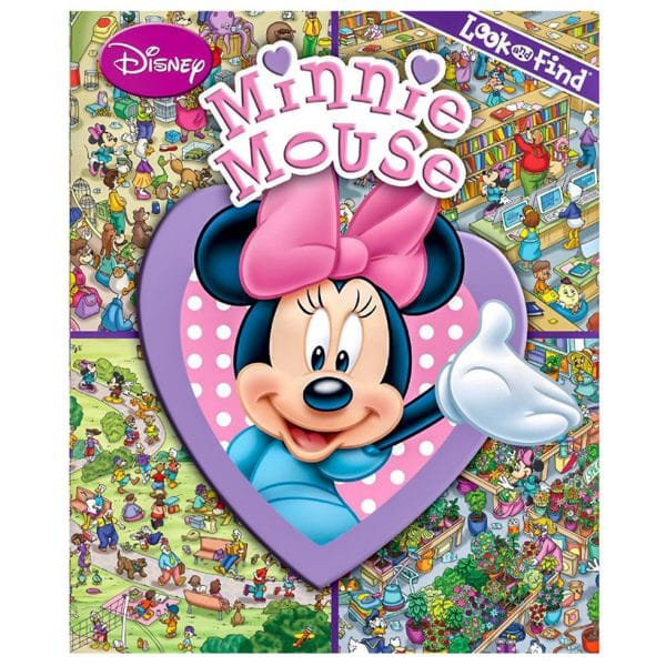 Disney Minnie Mouse Look and Find Book