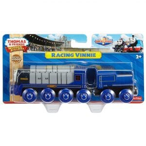 Thomas and Friends Wooden Railway Racing Vinnie Engine