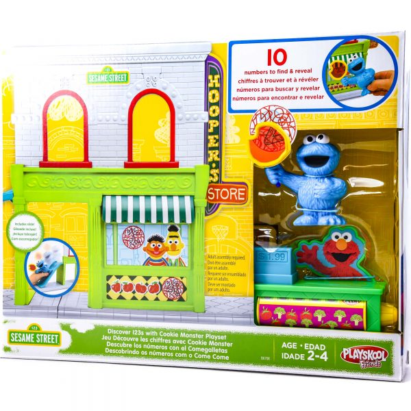 Sesame Street Discover 123's with Cookie Monster Playset