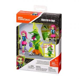 Mega Construx Monster High Chomping Chewlian Building Set
