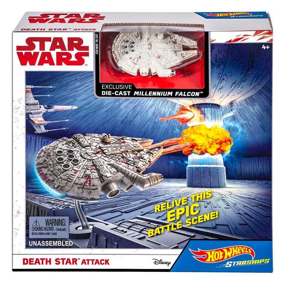 Hot Wheels Star Wars Death Star Attack Set Samko And Miko Toy