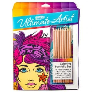 Roseart Ultimate Artist Color Portfolio Series Pencils